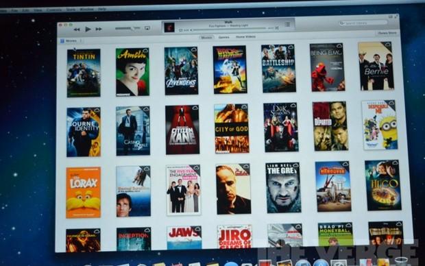 iCloud dentro do novo iTunes 11 (Foto: Reprodução / The Verge)