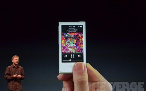 Novo iPod nano é anunciado (Foto: Reprodução / The Verge)