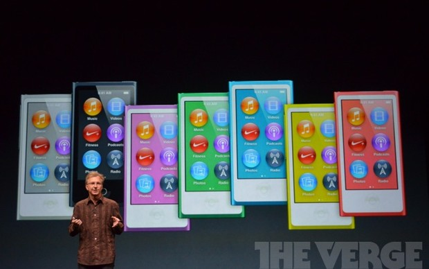 iPod nano virá em 7 cores (Foto: Reprodução / The Verge)