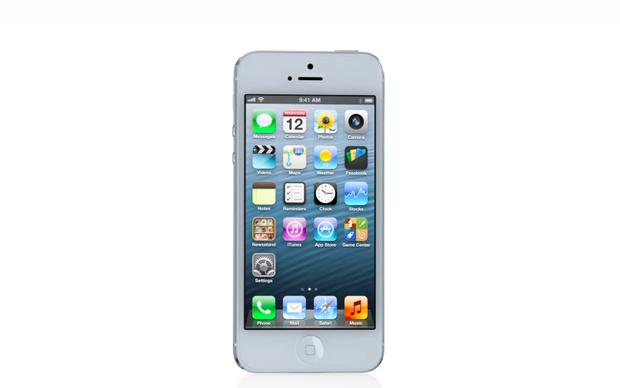 Novo iPhone 5 versão branca (Foto: Divulgação)
