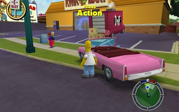 The Simpsons: Hit and Run (Foto: Divulgação) (Foto: The Simpsons: Hit and Run (Foto: Divulgação))