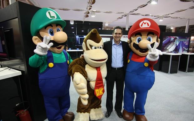 Mark Wentley, gerente de vendas e marketing da Nintendo América Latina (Foto: TechTudo)