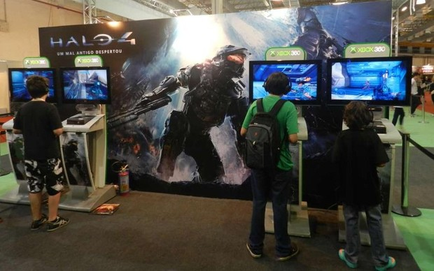 Halo 4 (Foto: Alexandre Silva)
