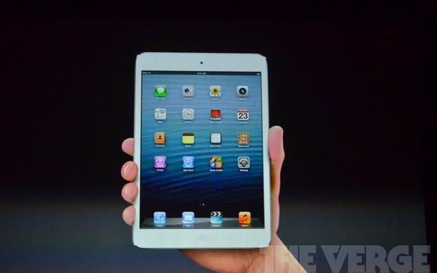 O iPad mini (Foto: Reprodução/The Verge)