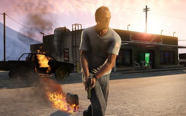 Trevor em GTA 5 (Foto: Divulgação)