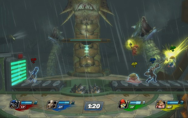 PlayStation All-Stars Battle Royale (Foto: Divulgação) (Foto: PlayStation All-Stars Battle Royale (Foto: Divulgação))