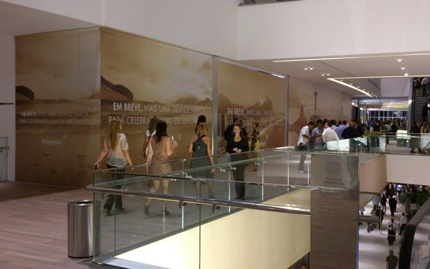 Shopping onde ficará a Apple Store por dentro (Foto: TechTudo)