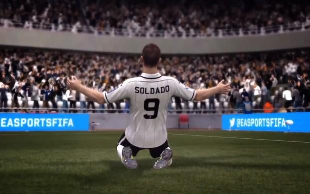 Aprenda como realizar todas as comemorações de Fifa 13 (Foto: Reprodução)