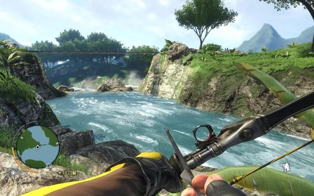 Os cenários de Far Cry 3 são encantadores (Foto: Divulgação)