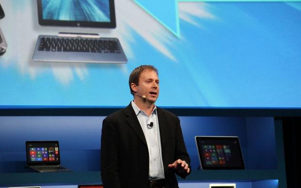 Kirk Scott, gerente da Intel, subiu ao palco para apresentar as novidades da empresa (Foto: Fabrício Vitorino)