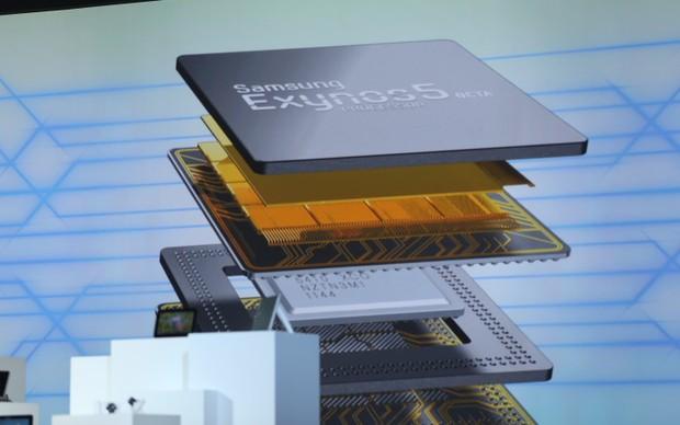 Exynos 5 Octa foi apresentado pela Samsung na CES 2013 (Foto: Reprodução/TechCrunch)