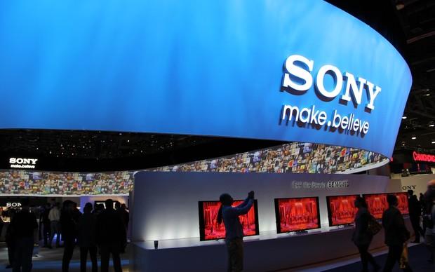 Stand da Sony na CES 2013 (Foto: TechTudo/ Fabricio Vitorino)