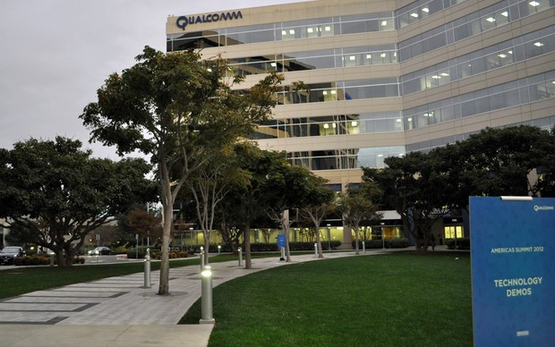 Sede da Qualcomm, em San Diego (Foto: TechTudo / Fabrício Vitorino)