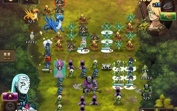 M&M: Clash of Heroes traz o verdadeiro RPG para o iPhone e iPad (Foto: Divulgação)