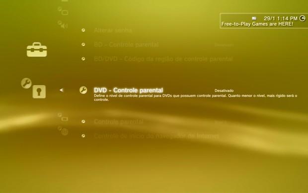 BD/DVD – Código da região de controle parental (Foto: Reprodução)