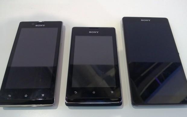 Nova linha da Sony chegará ao Brasil até junho (Foto: Allan Melo/TechTudo)