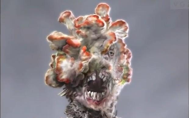 No jogo as pessoas são contaminadas por fungos, tornando-se perigosas e deformadas (Foto: VG247)