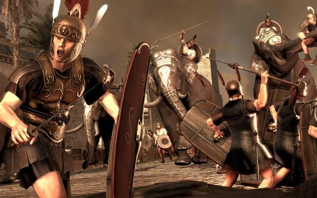 Fã de Total War: Rome 2 divulgacão (Foto: Divulgação)