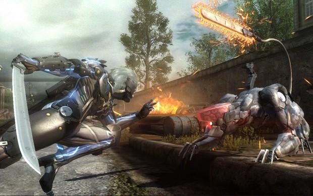 Aprenda a defender em Metal Gear Rising (Foto: Divulgação) (Foto: Aprenda a defender em Metal Gear Rising (Foto: Divulgação))