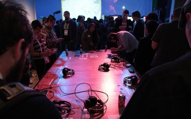 Novos jogos são apresentados em pequena conferência da Sony na GDC 2013 (Foto: Léo Torres / TechTudo)