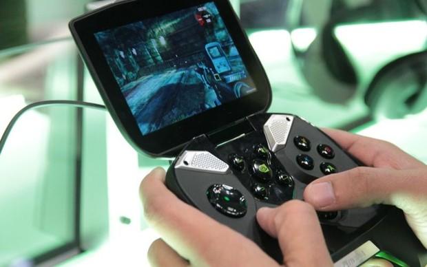 Testamos o Nvidia Shield durante a GDC 2013 (Foto: Léo Torres / TechTudo)
