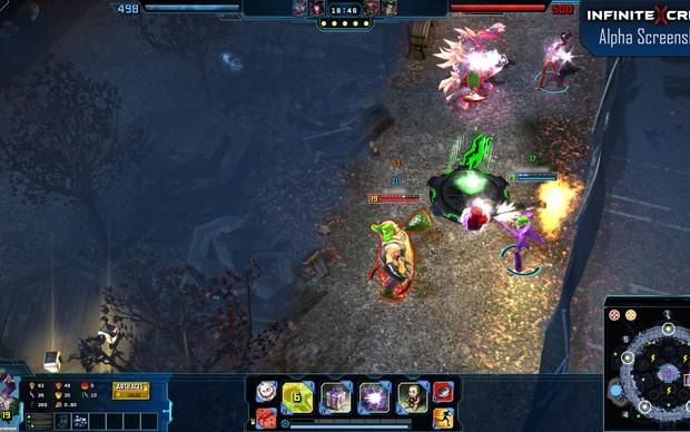Infinite Crisis, jogo desenvolvido pela Turbine (Foto: Divulgação)