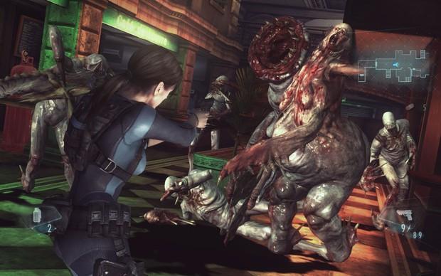 Resident Evil: Revelations está mais bonito do que nunca nos PCs (Foto: Divulgação) (Foto: Resident Evil: Revelations está mais bonito do que nunca nos PCs (Foto: Divulgação))