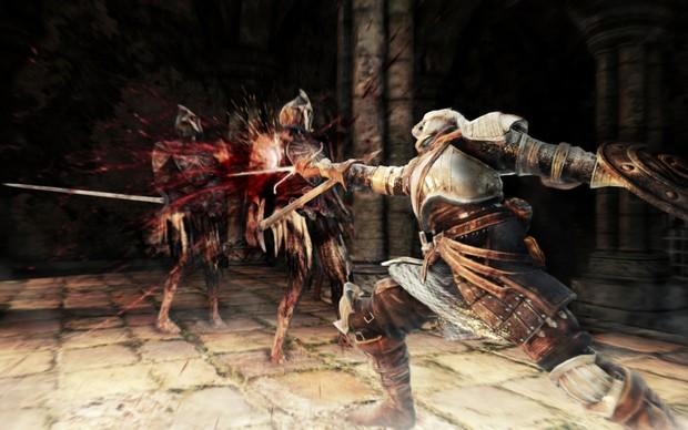 O combate de Dark Souls 2 promete ser mais fluido (Foto: Divulgação) (Foto: O combate de Dark Souls 2 promete ser mais fluido (Foto: Divulgação))