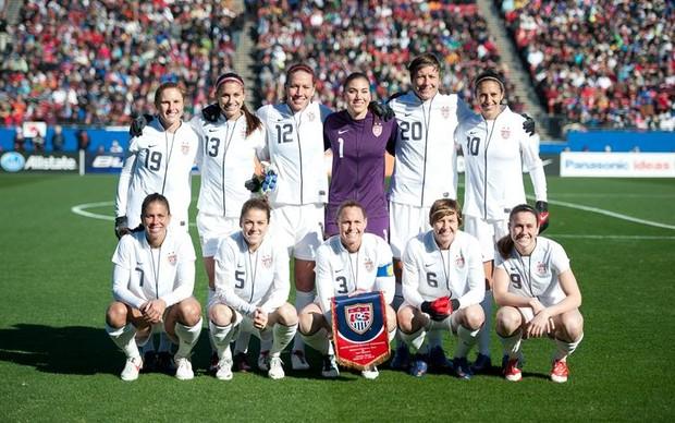 Seleção feminina dos EUA (Foto: Divulgação)