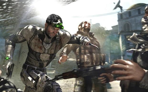 Sam Fisher faz cara de poucos amigos em Splinter Cell: Blacklist (Foto: Divulgação) (Foto: Sam Fisher faz cara de poucos amigos em Splinter Cell: Blacklist (Foto: Divulgação))
