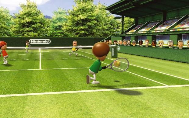 O tênis de Wii Sports foi uma febre mundial (Foto: Divulgação) (Foto: O tênis de Wii Sports foi uma febre mundial (Foto: Divulgação))