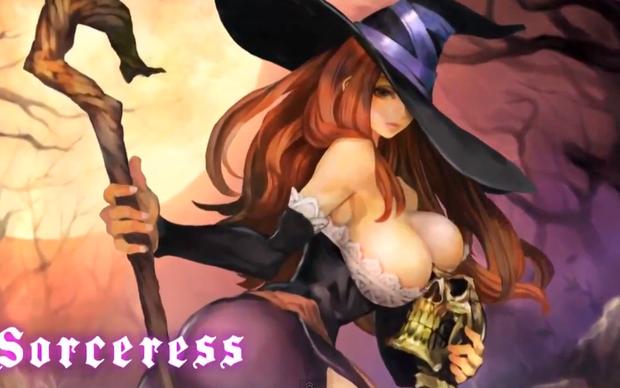 Sorceress em Dragon's Crown  (Foto: Divulgação)