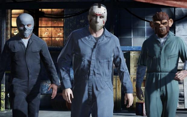Assaltos serão um dos destaques de GTA 5 (Foto: Divulgação) (Foto: Assaltos serão um dos destaques de GTA 5 (Foto: Divulgação))