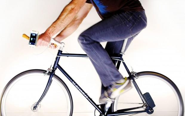 Siva Cycle Atom transforma pedaladas da bicicleta em energia (Foto: Divulgação)