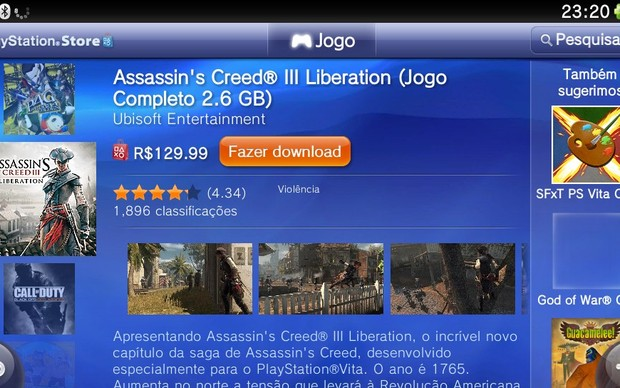 Tela com a opção de compra do jogo (Foto: Reprodução / TechTudo)