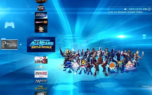 Faça o download do game no seu PS3 antes de importar para o Ps Vita (Foto: Reprodução / TechTudo)