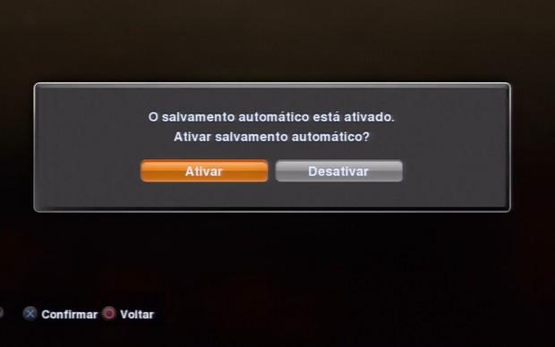 Desabilite o salvamento automático (Foto: Reprodução / TechTudo)