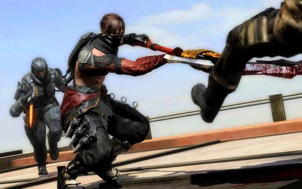 Novas roupas também estão disponíveis em Ninja Gaiden 3 Razor's Edge (Foto: Divulgação)