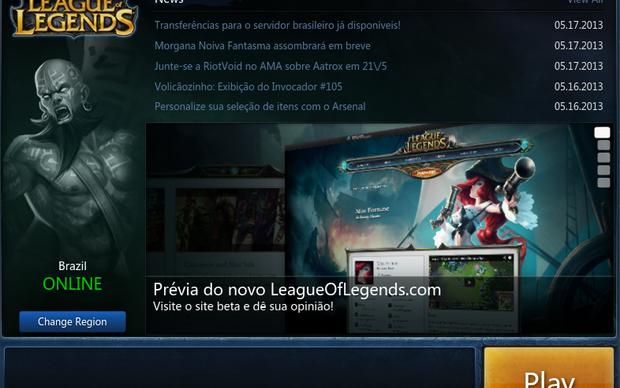 League of Legends Brasil em Inglês (Foto: League of Legends Brasil em Inglês)