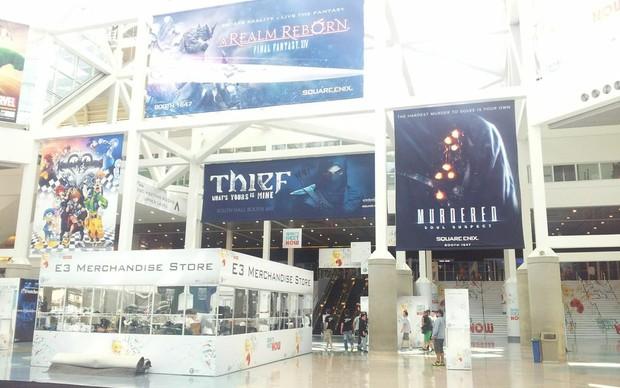Hall principal do Centro de Convenções de Los Angeles, onde acontece a E3 2013 (Foto: Léo Torres / TechTudo)
