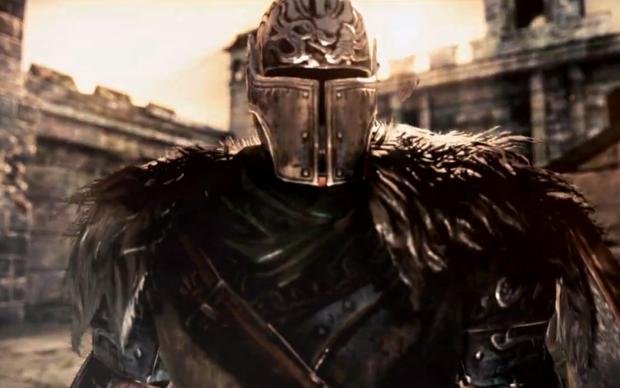 O Dark Souls 2 foi uma das novidades apresentadas na conferência da Microsoft (Foto: Reprodução)