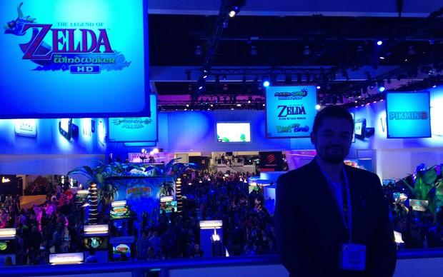 Bernardo Guzmán-Blanco, gerente da Nintendo na América Latina (Foto: Spencer Stachi / TechTudo)