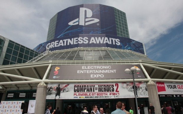 Entrada do centro de convenções onde acontece a E3 2013 (Foto: Léo Torres / TechTudo)