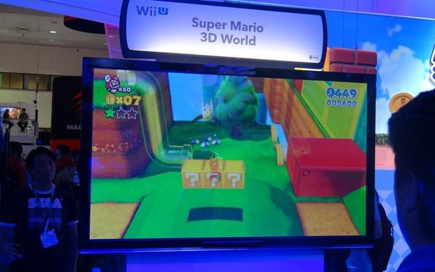 Super Mario 3D World terá nova roupa de gato (Foto: Renan Dayube / TechTudo)