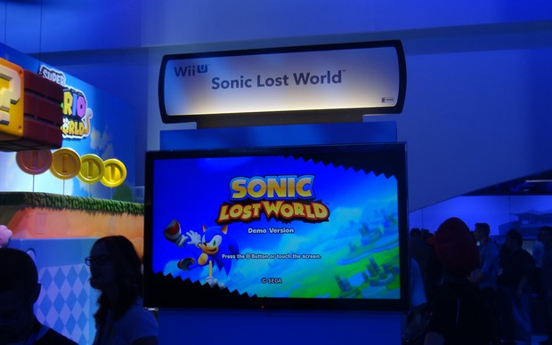 Sonic The Lost World (Foto: Renan Dayube / TechTudo)