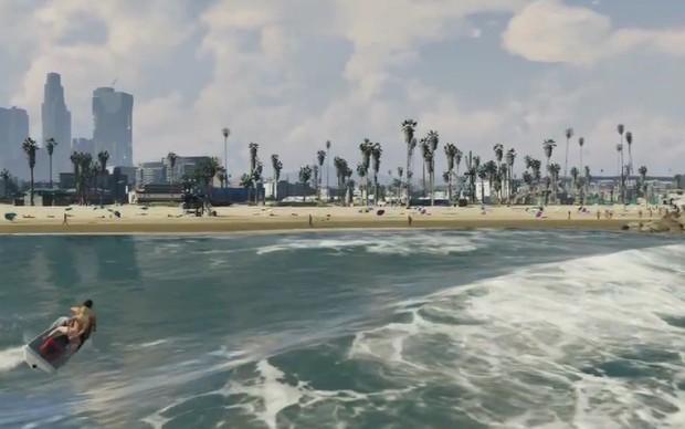 Para relaxar, a cidade de Los Santos trará belíssimas praias (Foto: Reprodução) (Foto: Para relaxar, a cidade de Los Santos trará belíssimas praias (Foto: Reprodução))