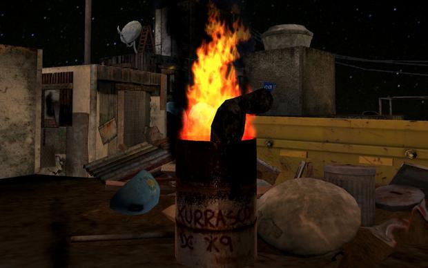 'Microondas' em Favela Wars (Foto: Divulgação)
