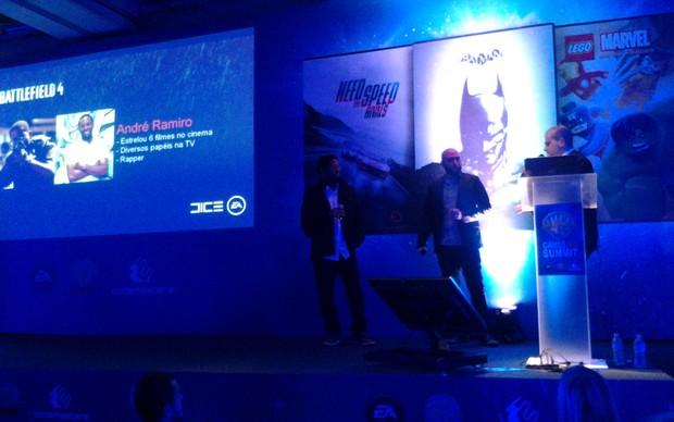 André Ramiro será um dos dubladores de Battlefield 4 (Foto: Renato Bazan / TechTudo)
