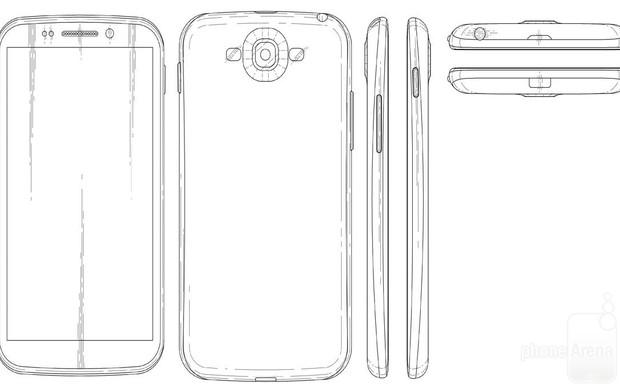 Suposto projeto do Galaxy S5 é divulgado (Foto:Reprodução/PhoneArena) (Foto: Suposto projeto do Galaxy S5 é divulgado (Foto:Reprodução/PhoneArena))