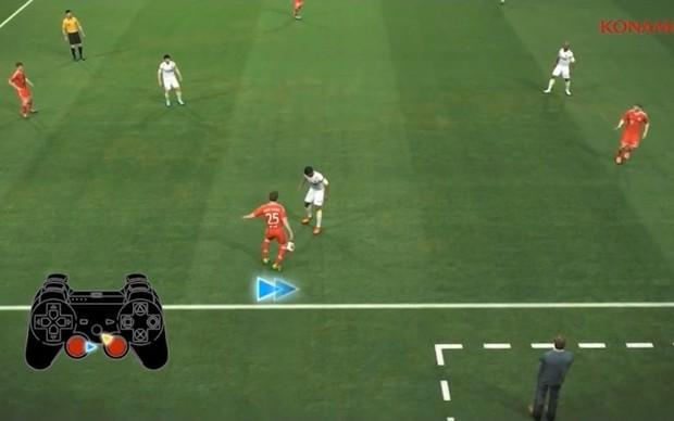 PES 2014 terá um sistema de controle de bola totalmente novo (Foto: Reprodução)